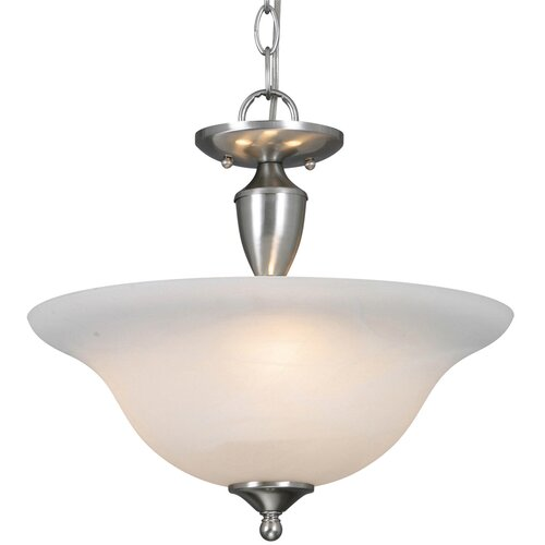 Golden Lighting Centennial 3 Lights Convertible Inverted Pendant