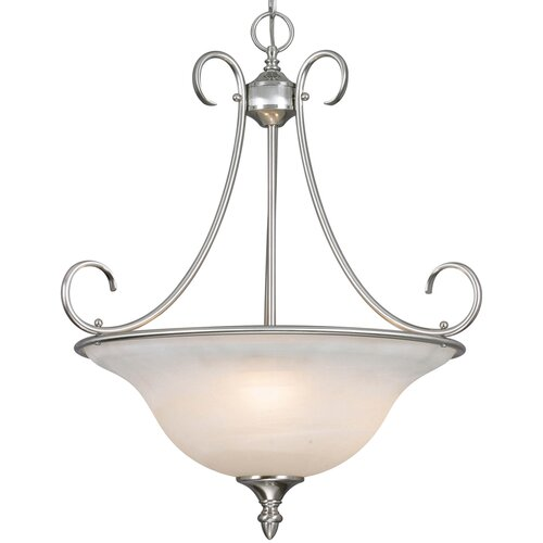 Centennial 3 Light Bowl Inverted Pendant