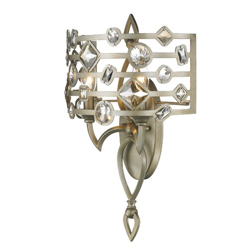 Golden Lighting Coronada 2 Light Wall Sconce