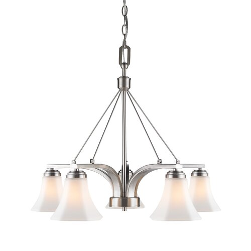 Accurian 5 Light Nook Chandelier
