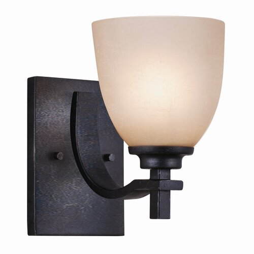 Golden Lighting Hampden 1 Light Wall Sconce