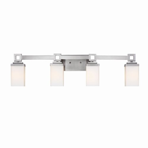 Golden Lighting Nelio 4 Light Bath Vanity Light