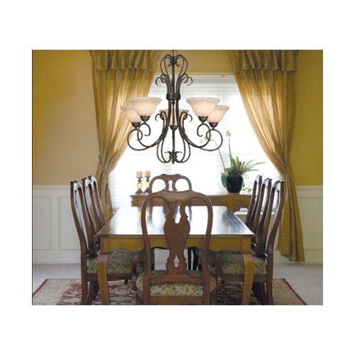 Golden Lighting Homestead 5 Light Chandelier