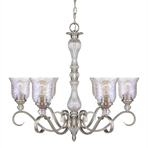 Alston Place 6 Light Crystal Chandelier