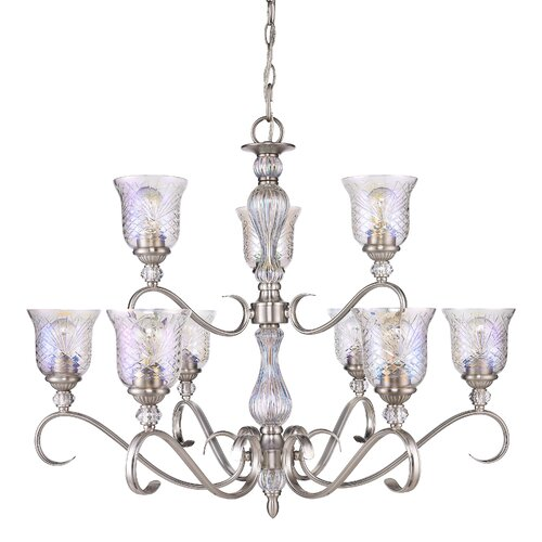 Alston Place 9 Light Crystal Chandelier