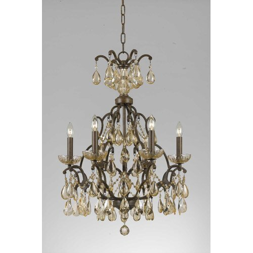 Triarch Lighting Versailles 6 Light Chandelier