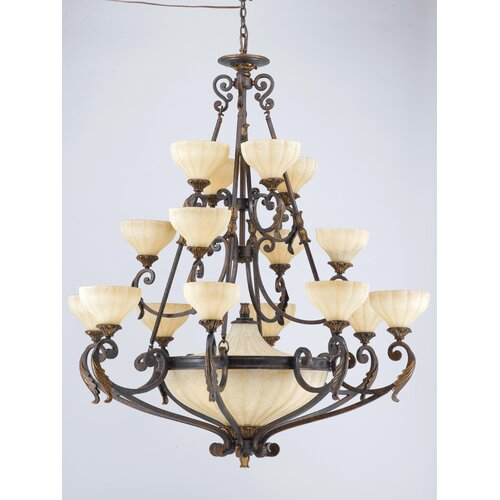 Venus 20 Light Entry Chandelier
