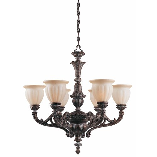 Triarch Lighting Sultan 6 Light Chandelier