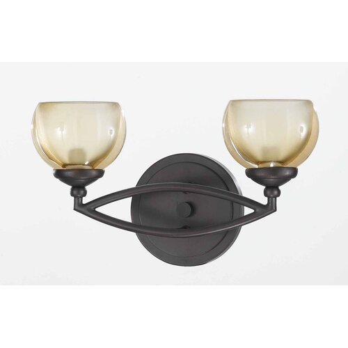 Triarch Lighting Retro 2 Light Vanity Light