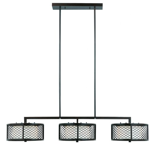 Triarch Lighting Chainlink 6 Light Kitchen Island Pendant