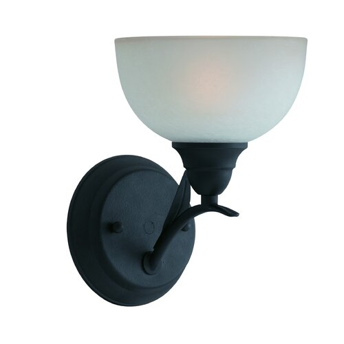 Triarch Lighting Value Series 1 Light Wall Sconce