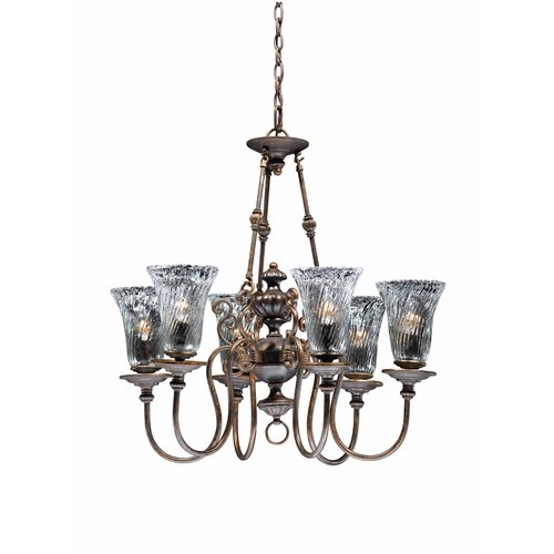 Triarch Lighting Cafe 6 Light Chandelier