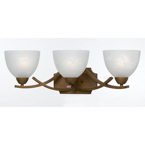 Triarch Lighting Value Series 280 3 Light Bath Vanity Light