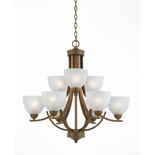 Triarch Lighting Value Series 280 9 Light Chandelier