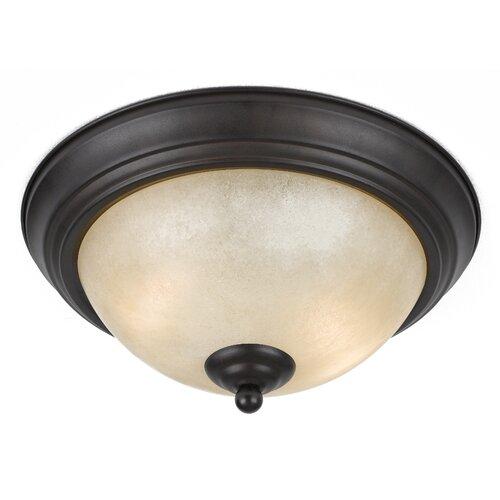 Triarch Lighting Value Series 2 Light Flush Mount