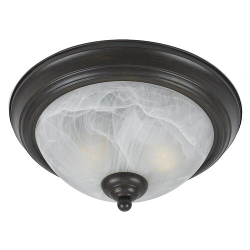 Triarch Lighting Value Series 280 2 Light Flush Mount