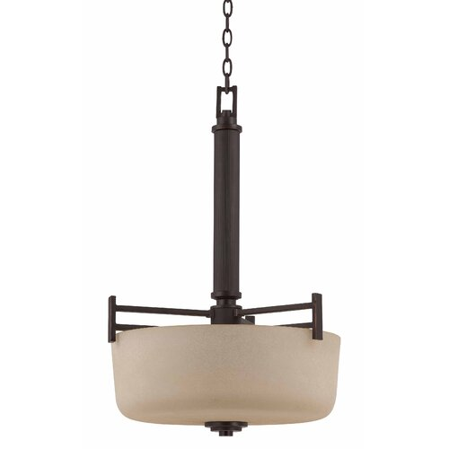 Oak Park 3 Light Drum Foyer Pendant