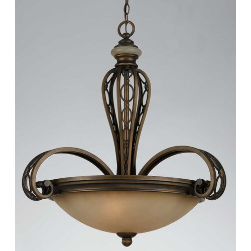 Triarch Lighting Ironstone 3 Light Pendant