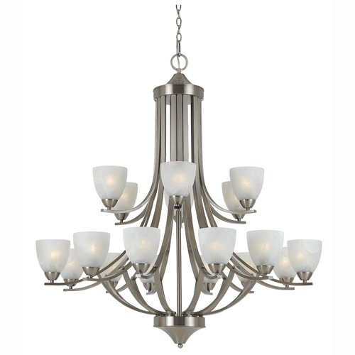 Value Series 290 18 Light Entryway Chandelier