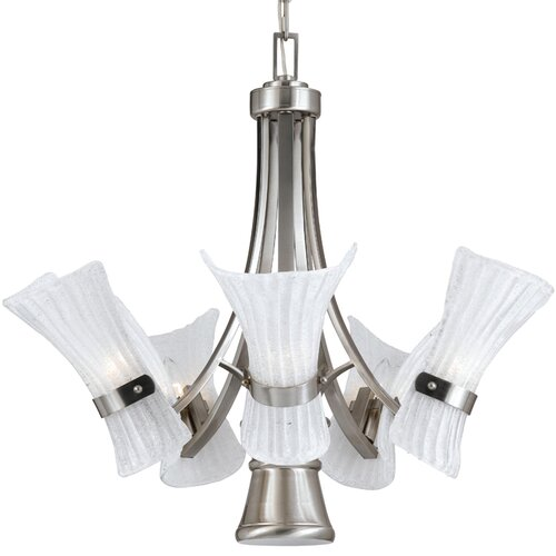 Triarch Lighting Bali-II 6 Light Chandelier