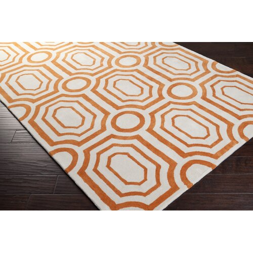 Hudson Park Golden Ochre/Winter White Rug