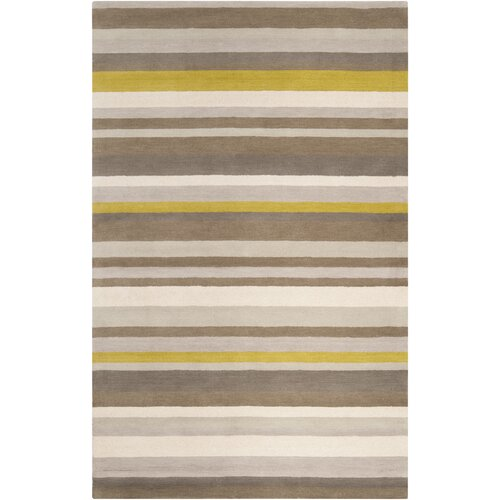 angelo:HOME Madison Square Green-Yellow Multi Rug