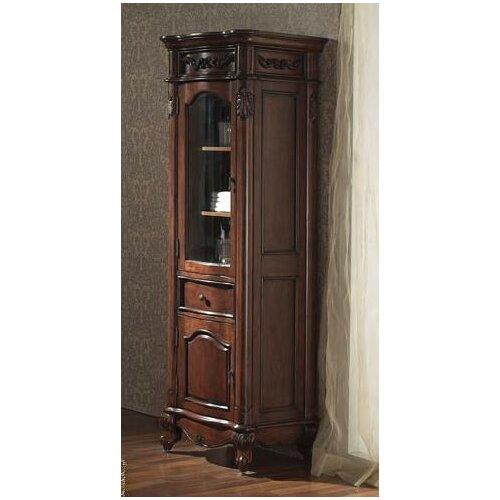 Avanity provence 24 x 72 linen tower reviews wayfair - Antique bathroom linen cabinets ideas ...