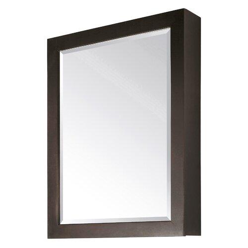 Modero Mirror Cabinet in Espresso