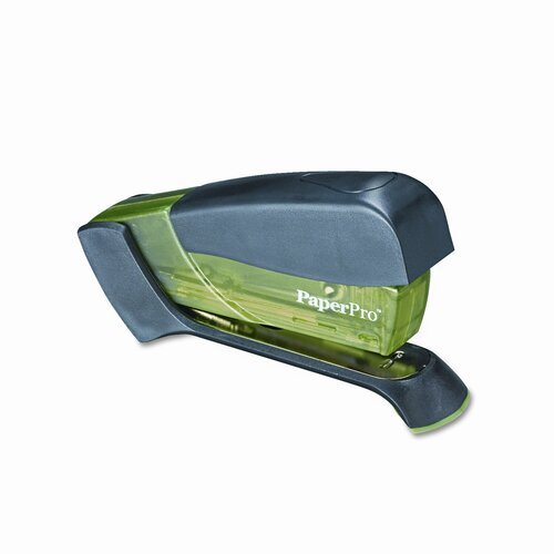 Accentra, Inc. Compact Stapler, 15 Sheet Capacity, Translucent Green