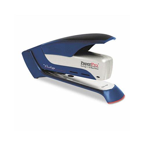 Accentra, Inc. Prodigy Spring Powered Stapler, 25 Sheet Cap, Blue/White