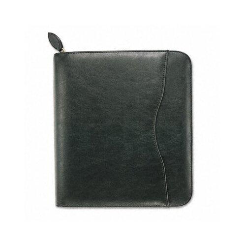 "Day-Timer® Avalon Leatherlike Vinyl Zippered Organizer Starter Set, 8.5"" Wide"