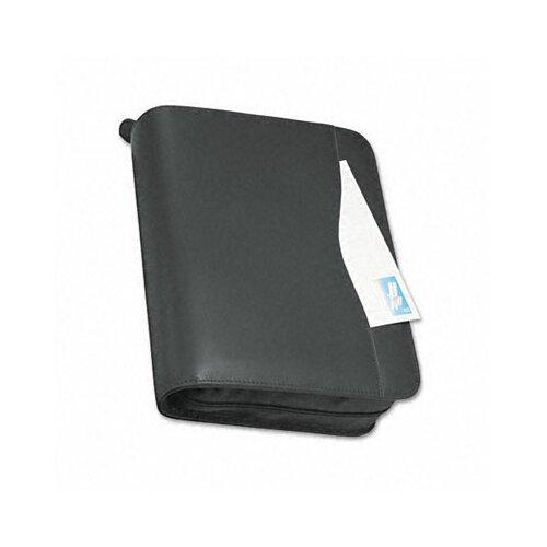 "Day-Timer® Verona Leather Zippered Organizer Starter Set, 8.5"" Wide"
