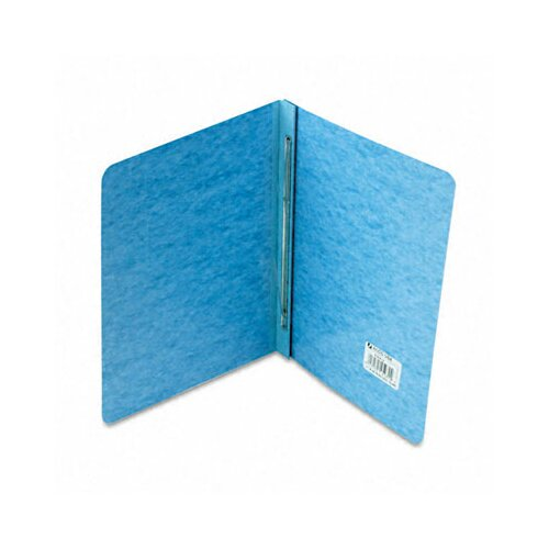"Acco Brands, Inc. Pressboard Report Cover, Prong Clip, Letter, 3"" Capacity, Light Blue"