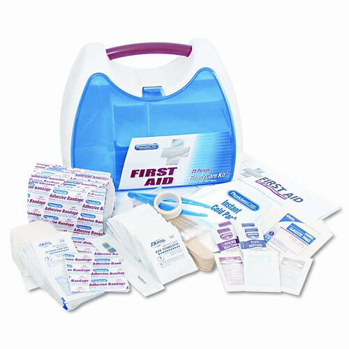 Acme United Corporation First Aid Ready Kit for 25 People, 182 items