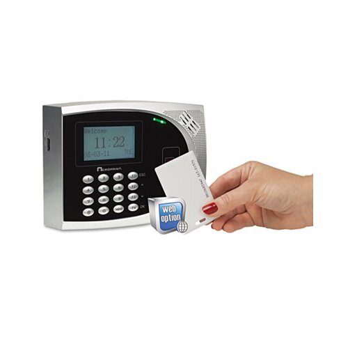 Acroprint Time Recorder Timeqplus Proximity Time and Attendance System, Badges, Automated