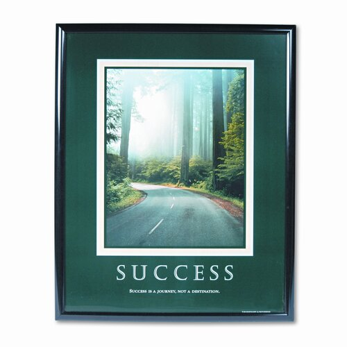 Advantus Corp. 'Success' Framed Photographic Print