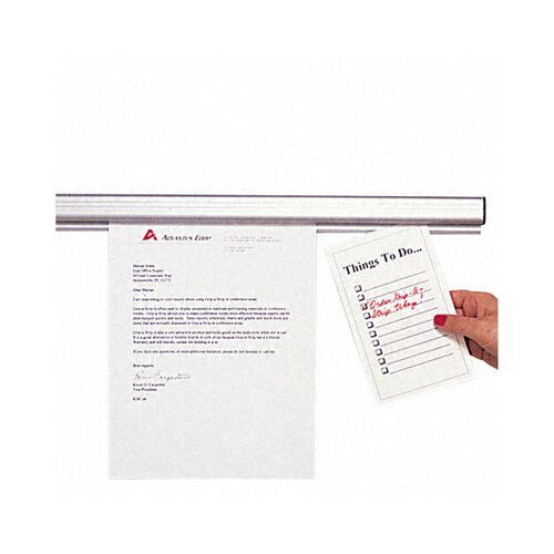 Advantus Corp. Grip-A-Strip Display Rail, 48 X 1 1/2