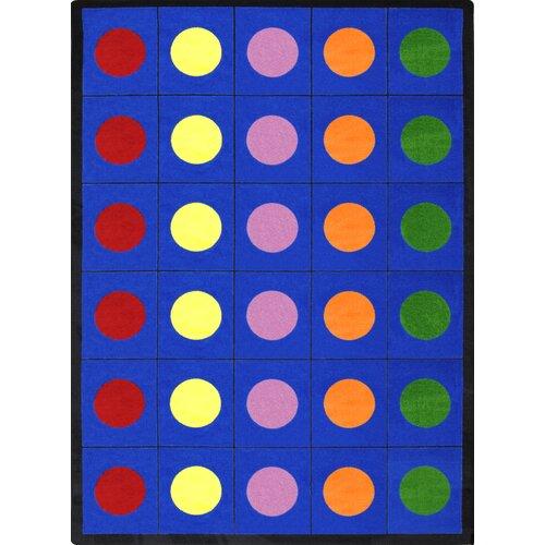 Joy Carpets Educational Lots Of Dots Area Rug & Reviews