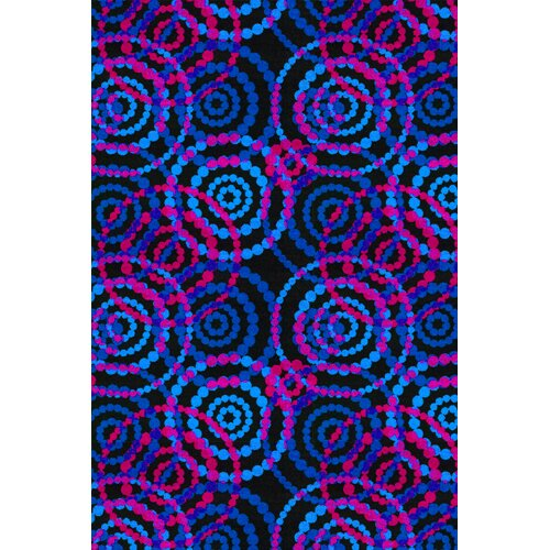 Joy Carpets Fluorescent Dottie Fluorescent Kids Rug