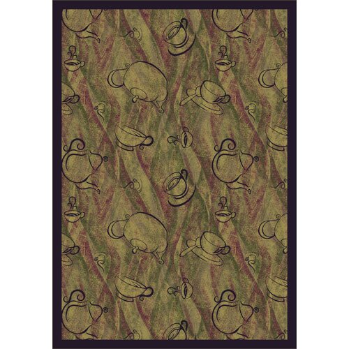 Joy Carpets Whimsy Fresh Brew Kids Rug