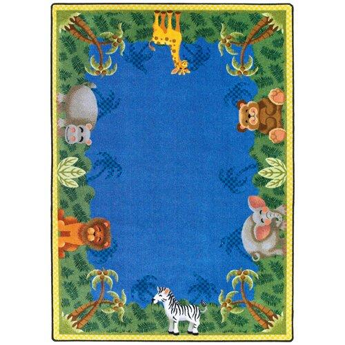Joy Carpets Just for Kids Jungle Friends Rug