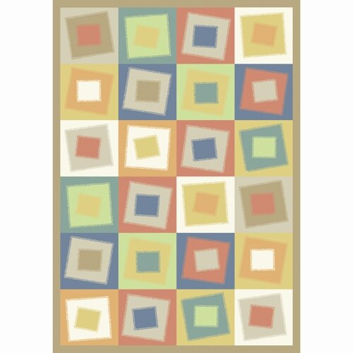 Joy Carpets Whimsy Off Balance Soft Kids Rug