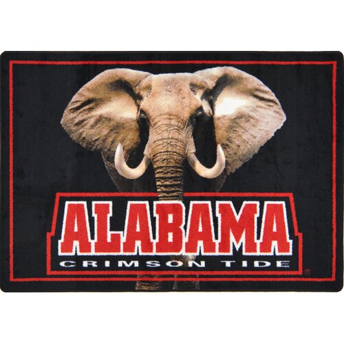 NCAA Collegiate Mascot Alabama Crimson Tide Novelty Rug