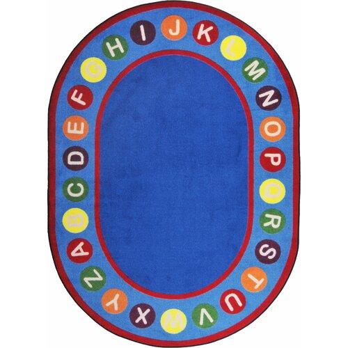 Joy Carpets Kid Essentials Alphabet Spots Kids Rug