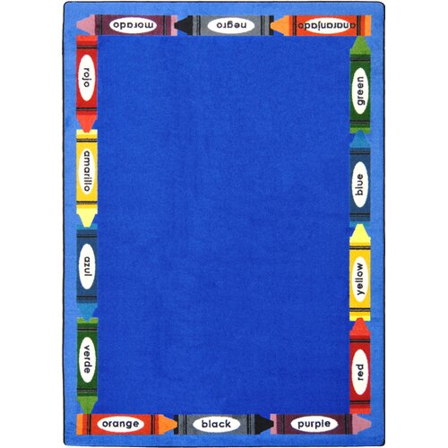 Joy Carpets Kid Essentials Bilingual Kids Rug