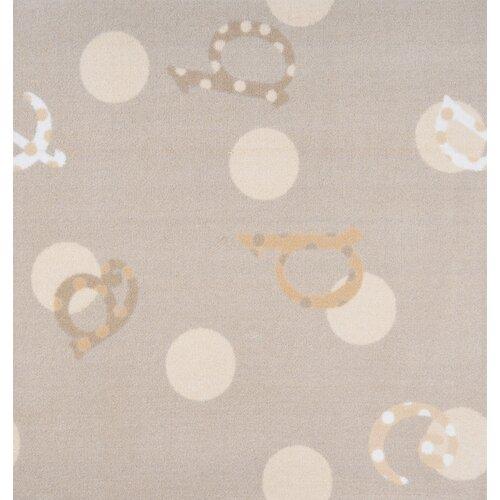 Joy Carpets Kid Essentials Polka Dot ABC's Kids Rug
