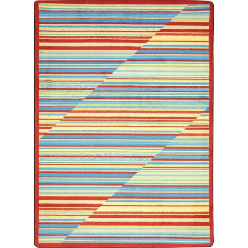 Joy Carpets Kid Essentials Rhythm Kids Rug