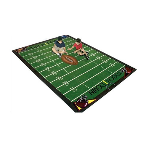 Joy Carpets Sports Football Fun Novelty Rug