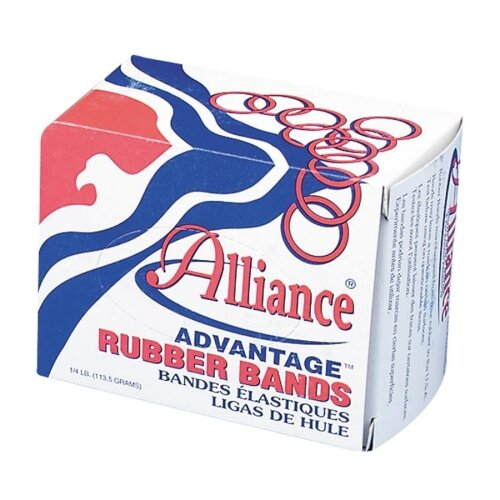 "Alliance Rubber Rubber Bands, Size 31, 1 lb., 2-1/2""x1/8"", Natural"