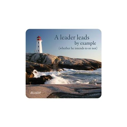 Allsop Motivational Mouse Pad - Leadership